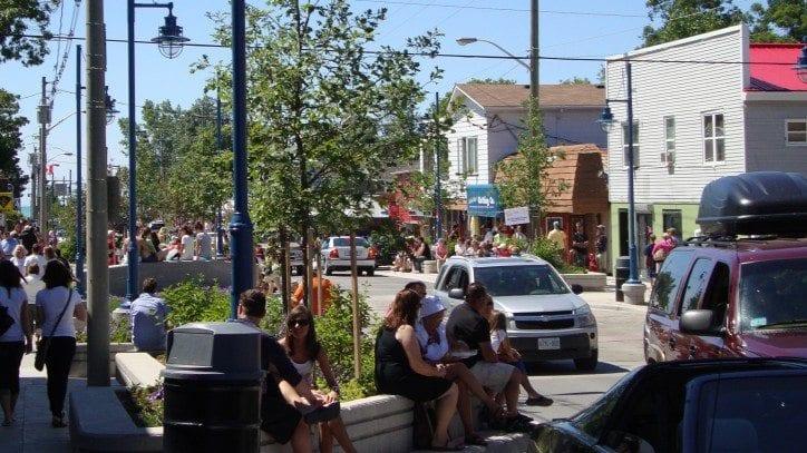 Grand Bend Main Street Streetscape Redevelopment