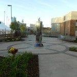 Post - Cross Cancer Institue Healing Garden - Entry View